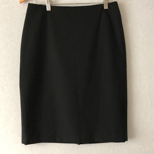 Jones New York Black Washable Wool Skirt Size 4